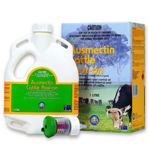Ausmectin Cattle Pour On 1L Ivermectin
