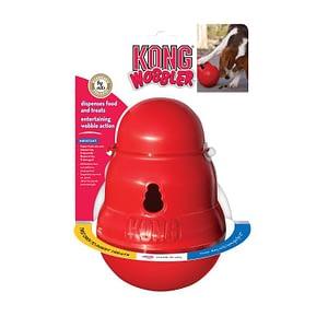 Kong Dog Wobbler Large Red