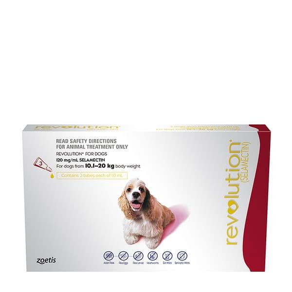 Revolution Dog 10-20KG + Canex Intestinal Wormer | Revolution Dog Wormer