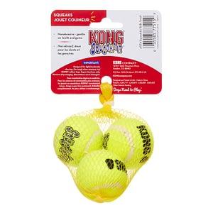 Kong Airdog Squeakair Tennis Ball Small 3pk