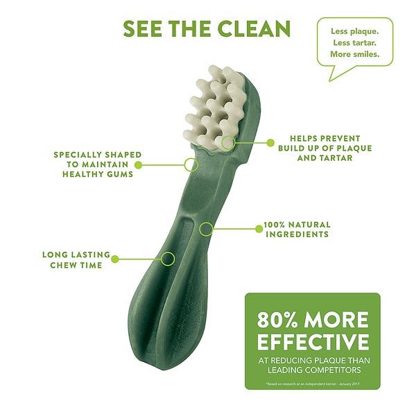 Whimzees Toothbrush Large 60g green