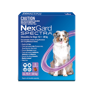 Nexgard Spectra Dog 15.1-30kg
