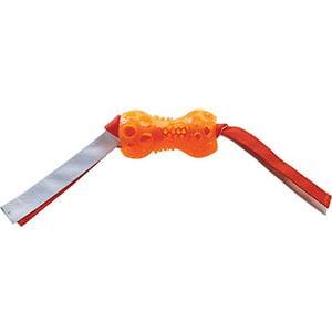 Ruff Play Dog Toy Bone Tug w/ Rope